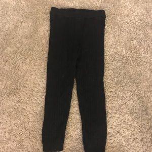 OshKosh Kids Sparkly Black Thick Size 3T Leggings